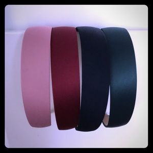 Set of 4 Color Hair Bands